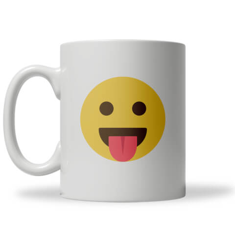 Tongue Out Emoji Mug