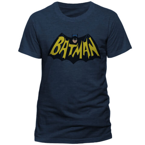 T-Shirt Homme DC Comics Batman 1966 Le Joker - Marine