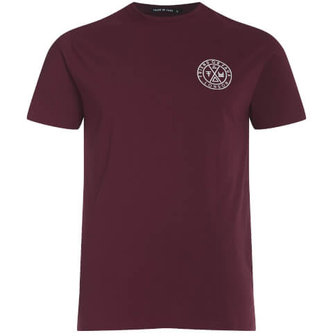 Friend or Faux Men's Tremer T-Shirt - Burgundy