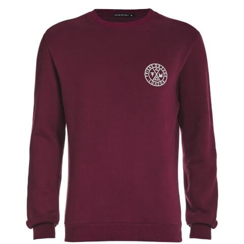 Sweatshirt Tremer Friend or Faux -Bordeaux