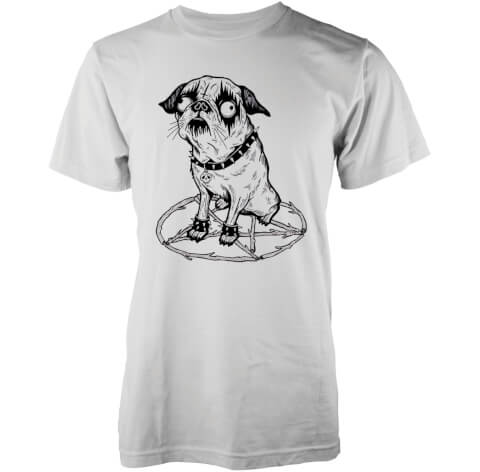 Abandon Ship Men's Hell Hound T-Shirt - White