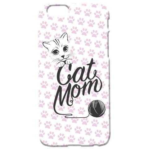 Coque pour iPhone & Android Cat Mom