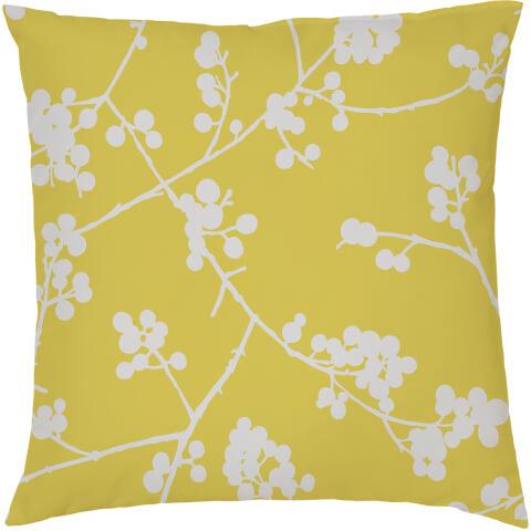Mustard Berry Cushion - Mustard (45 x 45cm)