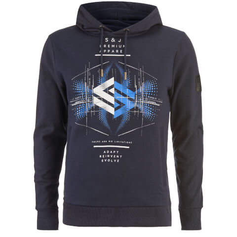 Smith & Jones Men's Elevation Hoody - Navy Blaze