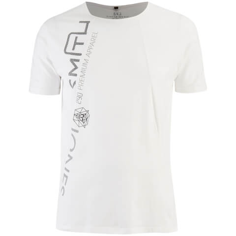Smith & Jones Men's Shematic T-Shirt - White