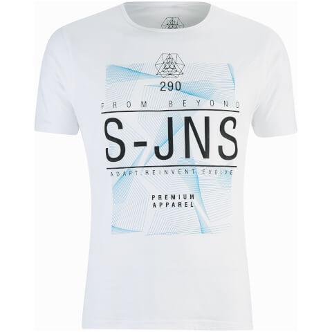 T-Shirt Homme Plastersque Smith & Jones -Blanc