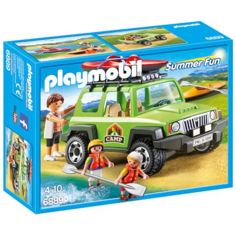 4x4 de randonnée avec kayaks - Playmobil (6889)