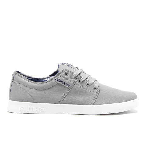 Supra Men's Stacks II Trainers - Grey/White
