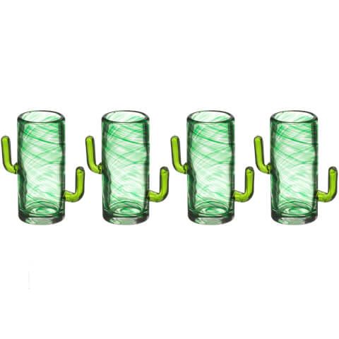 Cactus Shot Glasses (Set of 4)