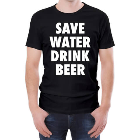 Save Water Drink Beer Men's T-Shirt