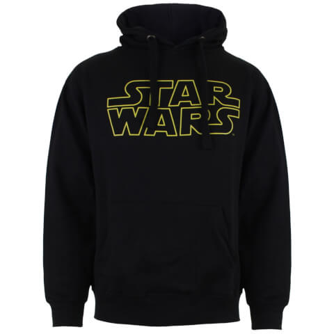 Star Wars Men's Basic Logo Hoody - Black