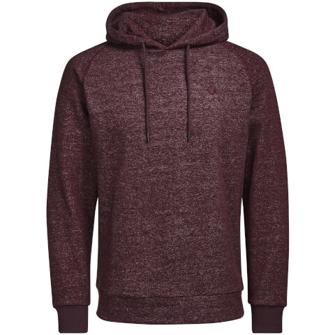 Sweat à Capuche Homme Core Win Textured Jack & Jones - Bordeaux