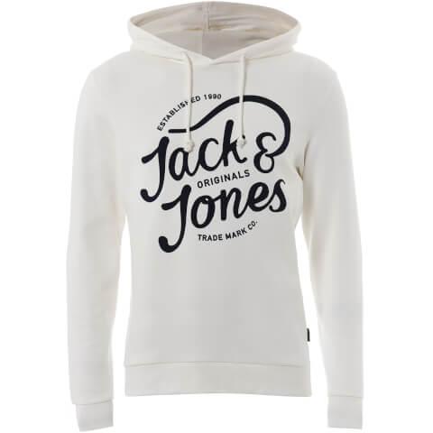 Jack & Jones Men's Originals Jolly Hoody - Cloud Dancer