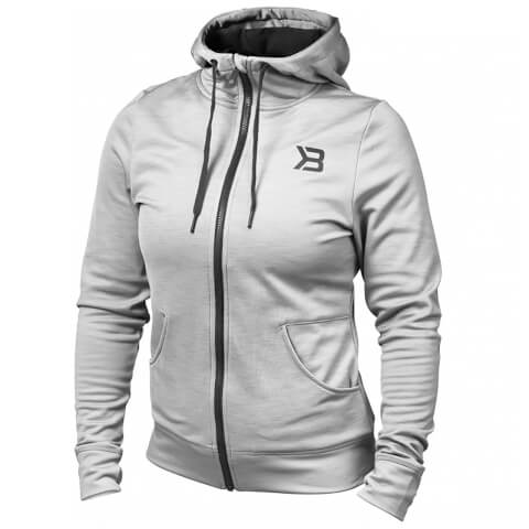 Better Bodies Performance Hoody - Grey Melange