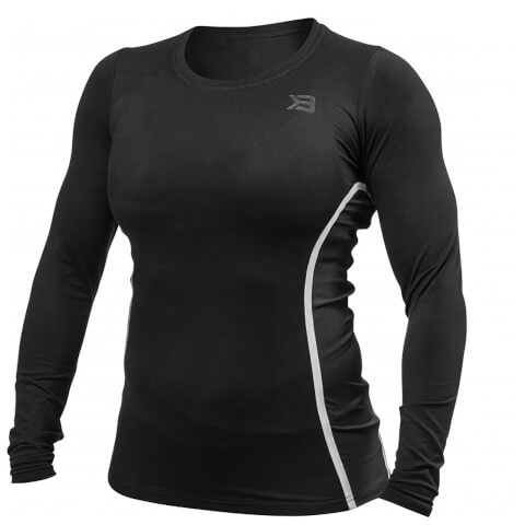 Better Bodies Performance Shape Long Sleeve T-Shirt - Black