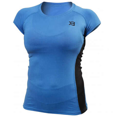 Better Bodies Performance Soft T-Shirt - Bright Blue