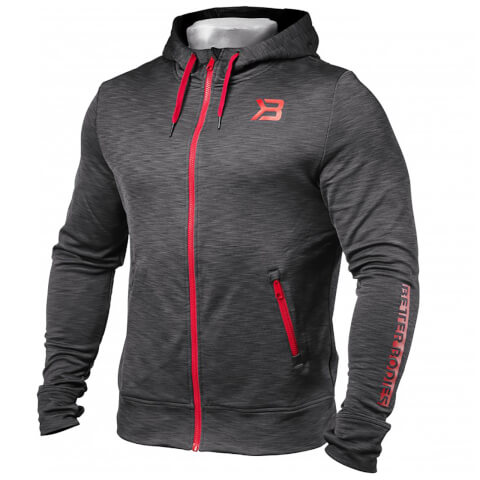 Better Bodies Performance Power Hoody - Antracite Melange