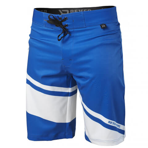 Better Bodies Pro Board Shorts - Bright Blue