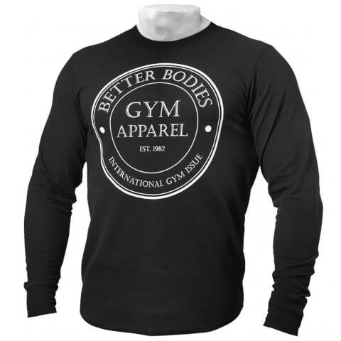 Better Bodies Tribeca Thermal Long Sleeve Sweatshirt - Black
