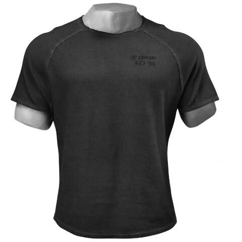 GASP Heritage Raglan T-Shirt - Wash Black