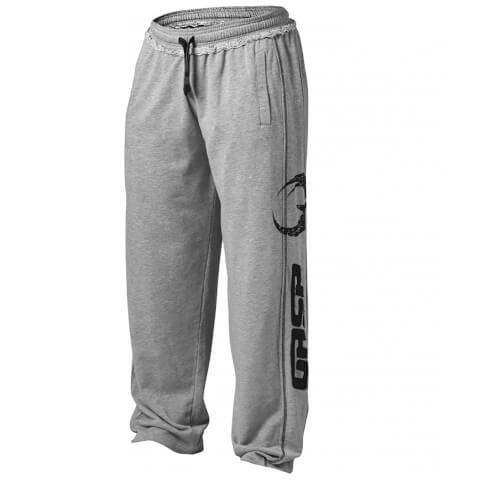 GASP Pro Gym Pants - Grey Melange