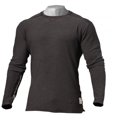 GASP Broad Street Long Sleeve Sweatshirt - Dark Grey