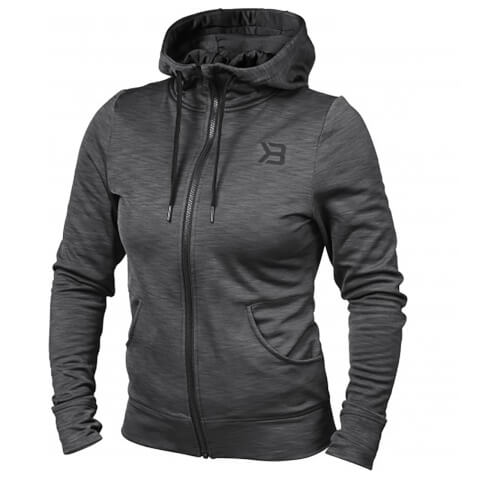 Better Bodies Performance Hoody - Antracite Melange