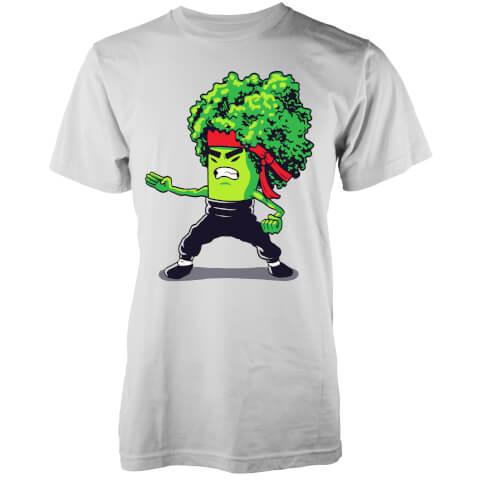 T-Shirt Homme Brocco Lee Vo Maria -Blanc