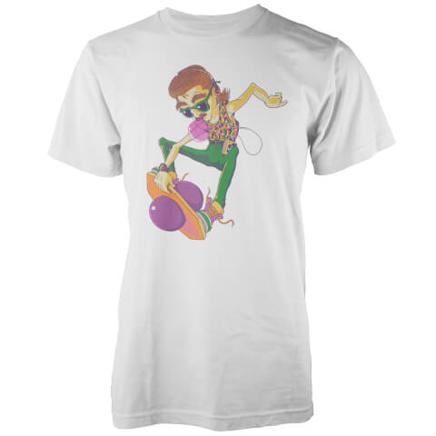 Vo Maria 80's Pogo Pete Men's White T-Shirt