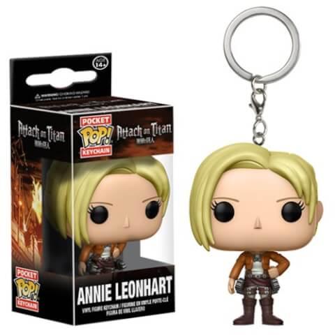 Attack on Titan Annie Leonhart Pocket Pop! Key Chain