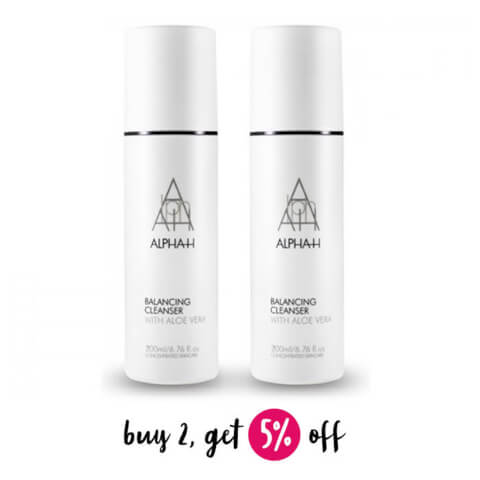 Buy 2 Alpha-H Balancing Cleanser 200ml And Save