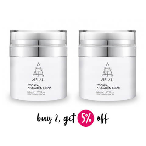 Buy 2 Alpha-H Essential Hydration Cream 50ml And Save