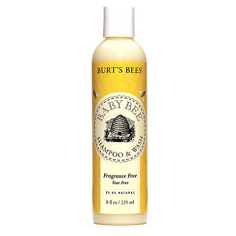 Burt's Bees Baby Bee Fragrance Free Shampoo & Body Wash