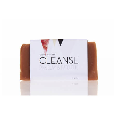 Cedar + Stone Pink Clay And Patchouli Cleanse Bar
