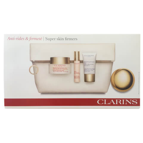 Clarins Super Skin Firmers Pack With Beauty Bag