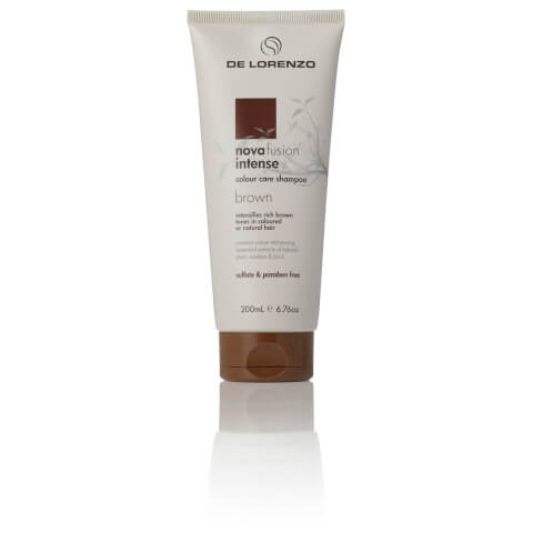 De Lorenzo Novafusion Intense Colour Care Shampoo - Brown