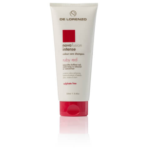De Lorenzo Novafusion Intense Colour Care Shampoo Ruby Red