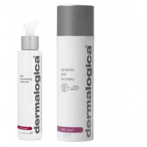 Dermalogica Age Smart Skin Resurfacing Cleanser 150ml + Dynamic Skin Recovery SPF50 50ml Duo