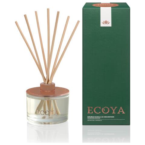 ECOYA Fragranced Diffuser - Double Vanilla And Cedarwood Limited Edition 200ml