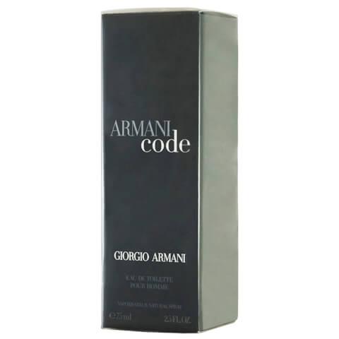 Giorgio Armani Code Pour Homme Eau De Toilette EDT Spray 75ml