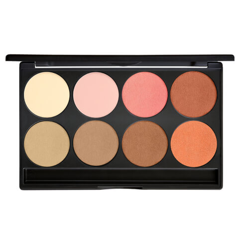 Gorgeous Cosmetics 8 Pan Blush/Highlight Palette