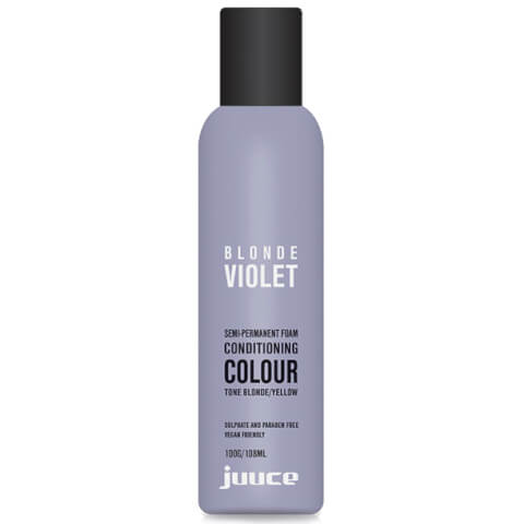 Juuce Extra Toning Blonde Violet Semi-Permanent Foam Conditioning Colour