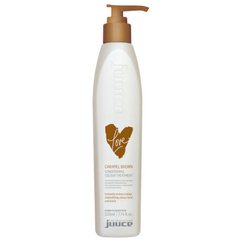 Juuce Love Conditioning Colour Treatment Caramel Brown 220ml