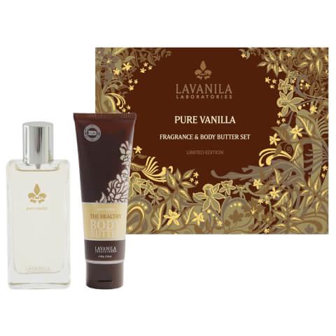 Lavanila Pure Vanilla Fragrance And Body Butter Set