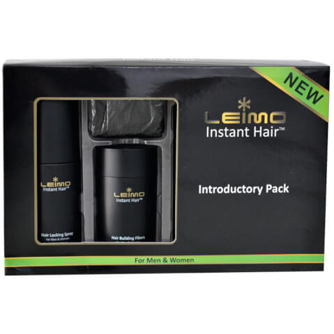 Leimo Instant Hair Introductory Pack Black