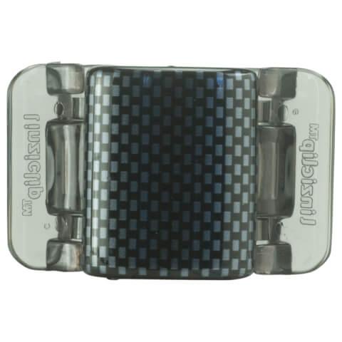 Linziclip Midi Claw Clip - Black And Grey Check
