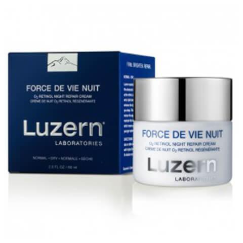 Luzern Force De Vie Nuit O2 Retinol Night Repair Cream 60ml