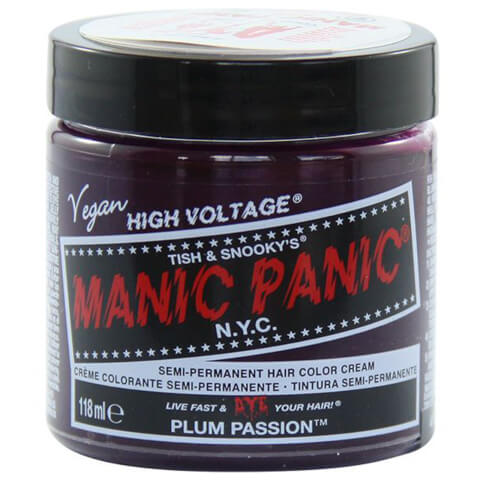 Manic Panic Semi-Permanent Hair Color Cream - Plum Passion 118ml