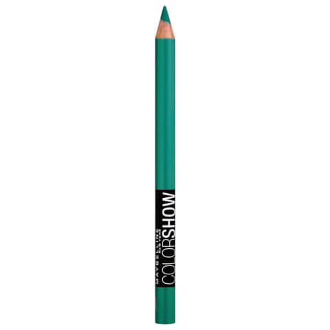 Maybelline Color Show Crayon Kohl Eye Liner #300 Edgy Emerald 1.2g