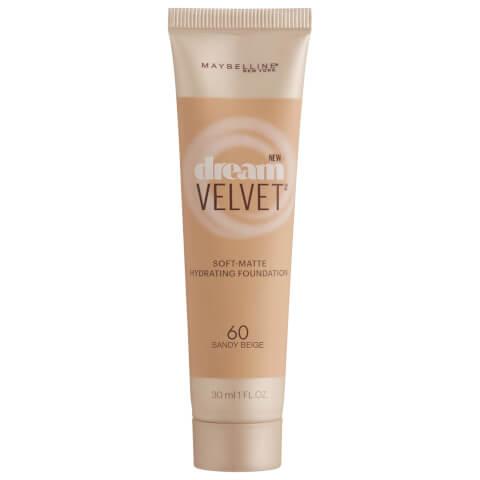 Maybelline Dream Velvet Soft-Matte Hydrating Foundation #60 Sandy Beige 30ml